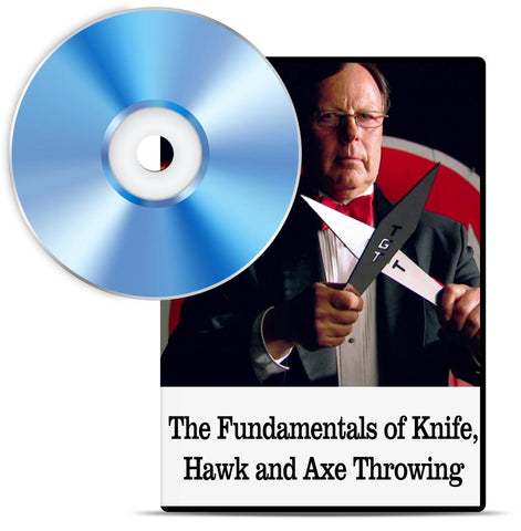 The Fundamentals of Knife, Hawk and Axe Throwing DVD