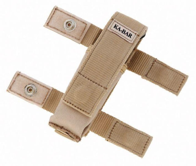 Ka-Bar Deset Tan Polyester Sheath , Fits Mule Folders