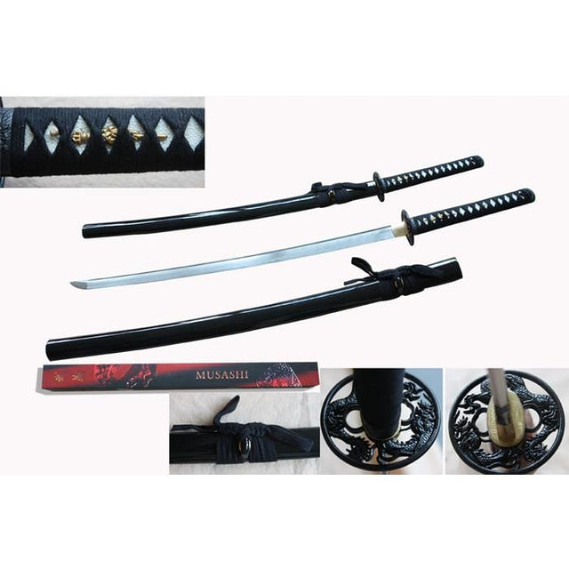 Musashi Traditional Sword with Scabbard