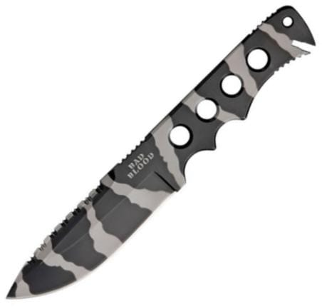 HallMark Cutlery Bad Blood Commander Camo Fixed Blade knife