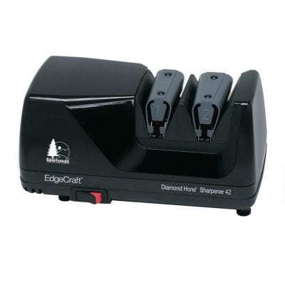 EdgeCraft Sportsman M42 Diamond Hone Electric Knife Sharpener, Black