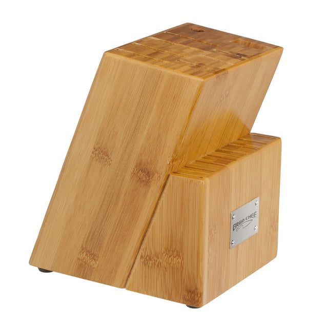 Ergo Chef 17 Slot Bamboo Knife Block