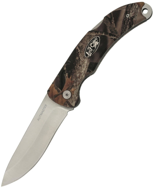 Kutmaster Knives Lost Camo Stainless Steel Lockback with Clip