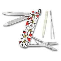 2012 Victorinox Classic Edelweiss Red - Knife Depot