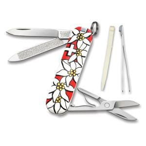 2012 Victorinox Classic Edelweiss Red