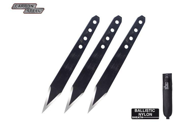Condor Tool and Knife Half Spin Throwing Knives, 3 Pc
