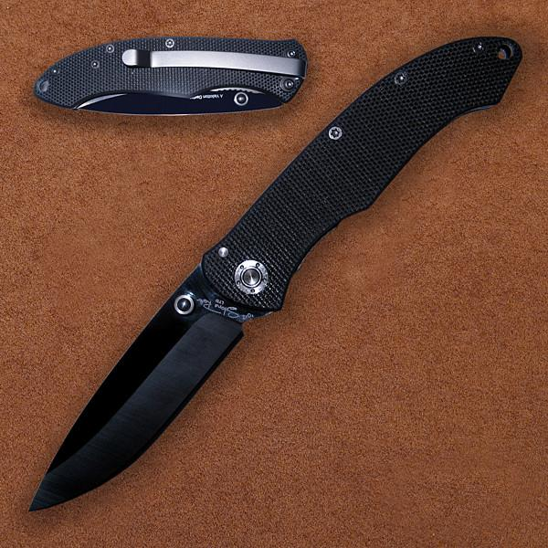 Stone River Speed Assist Folder, Titanium Handle