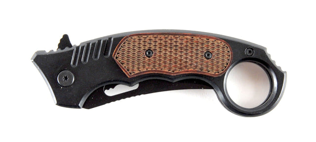 Assisted Opening Single Blade Karambit Tactical Pocket Knife
