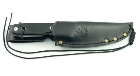 PUMA Knives Puma Niederwild, Micarta-Black Fixed Blade Knife