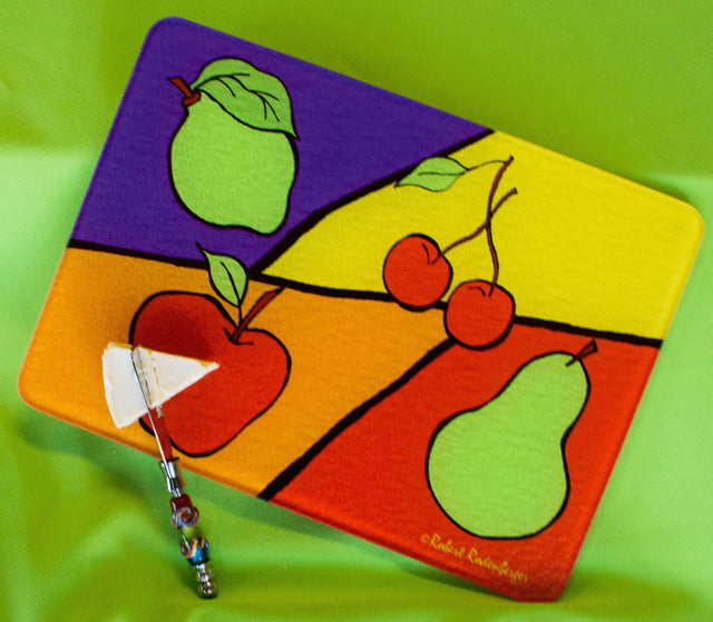 Jazzy Artz Fruit Colors Cutting Board