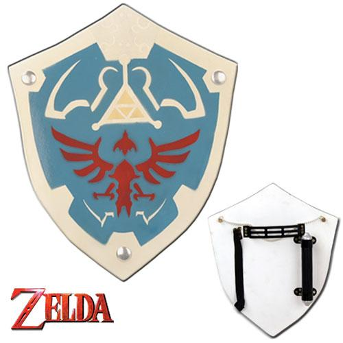 Deluxe Zelda Hylian Shield Replica Wood