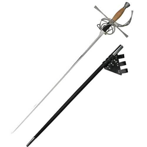 Classic Wood Grip Rapier Sword