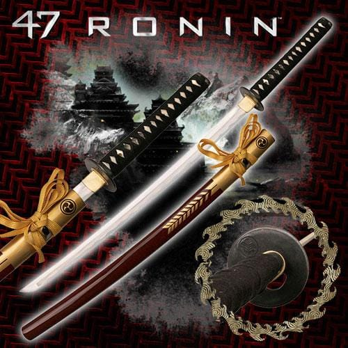 47 Ronin Movie Sword Replica - Oishi Katana Sword - Knife Depot