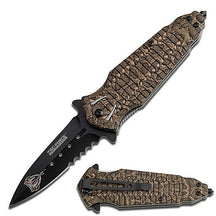 Tac- Force Spring Assist - Knife Snake Venom Spike Copper