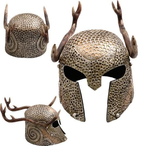 Elder Scroll Female Nord Helmet With Stag Antlers