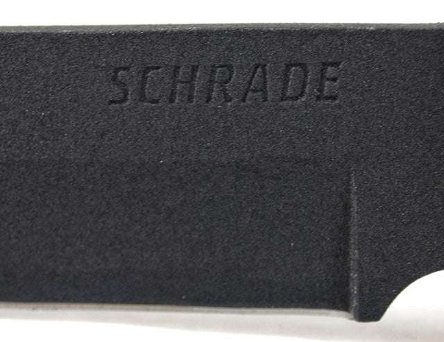 Schrade SCHF36 Frontier Full Tang Fixed Blade Knife with Black Nylon Belt Sheath with Ferro Rod and Sharpening Stone