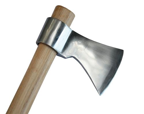 "Thrower Supply Large 19"" Heavy Duty Polished Throwing Tomahawk"