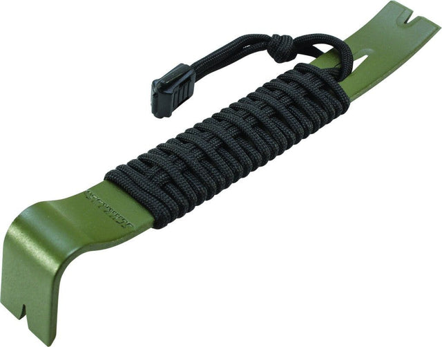 Schrade SCHPB1 Olive Drab Powder Coated Pry Bar