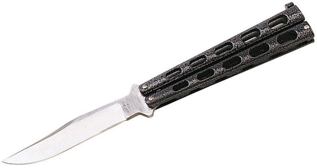 Bear OPS 5 3/8'' Carbon Fiber Coated Aluminum Handle Butterfly Knife