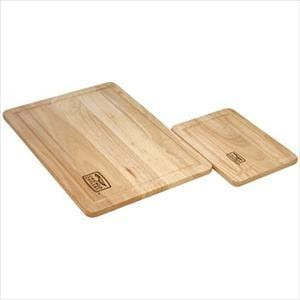 Chicago Cutlery Woodworks 2-Pc Rubberwood Set