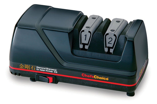 Chef'sChoice Diamond Sharpener for Asian Knives, Black