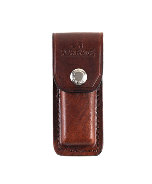 Uncle Henry Brown Leather Sheath for Schrade LB5