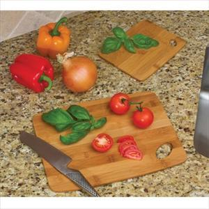 "Lipper Bamboo Thin Cutting Boards 6"" x 8"" & 9"" x 12"""