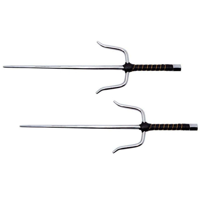 Shadow Cutlery Ninja Octagon Sai ? Set of 2 ? Silver