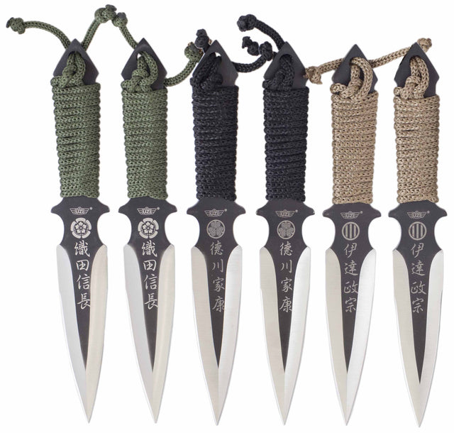 UZI Throwing Knife Set