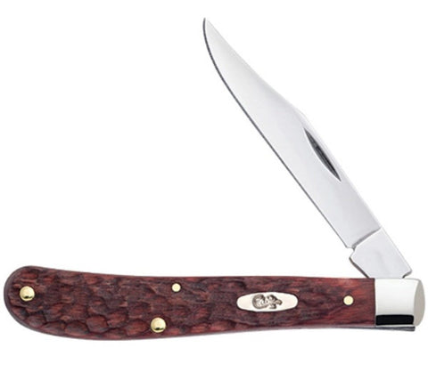 Case Cutlery Jigged Rosewood Slimline Trapper