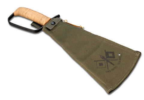 Woodman's Pal Premium Plus Machete with Canvas Sheath with FREE Laser Engraving