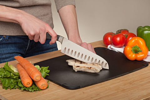 "Ergo Chef Ergonomic 7"" Santoku with Hollow Grounds"