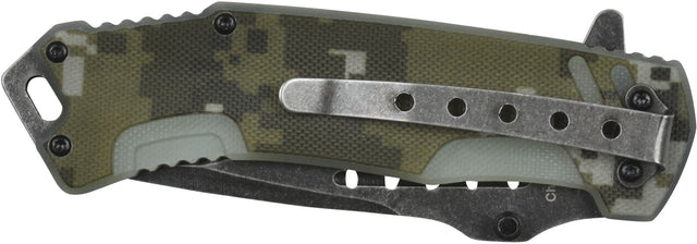 GSI Inc. 010460CM Camo Rogue Single Blade Pocket knife