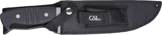 GSI Inc. BS310039-2 Srg. with Stripes Fixed Blade Knife