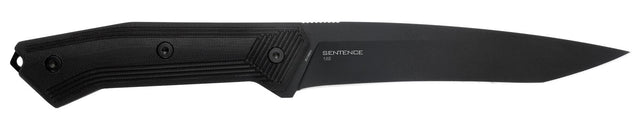 Steel Will Knives Sentence 122 Fixed Blade Knife, Sheath