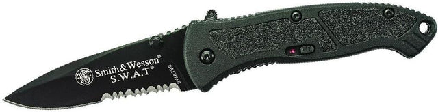 Smith & Wesson Small S.W.A.T. M.A.G.I.C. Assisted Opening Liner Lock Folding Knife, SWATBS