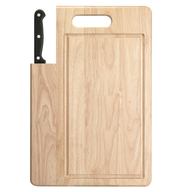 "Ginsu Essential Series 7"" Santoku Knife & Cutting Board"