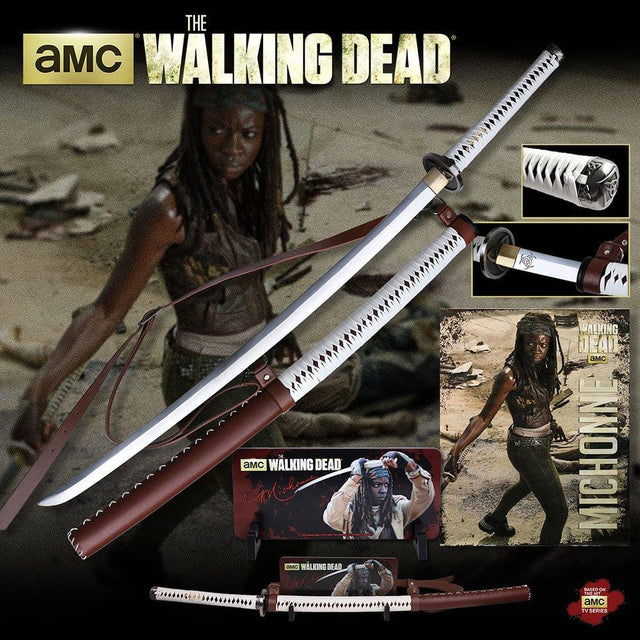 Master Cutlery The Walking Dead Sword - Wall Mount Limited Edition