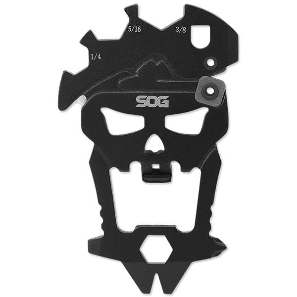 SOG Knives Mac-V Multi-Tool, Hardcased Black, Blister