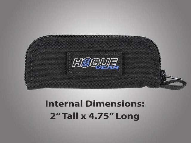 Hogue HG Med Folder Zip Knife Pouch Blk 5""
