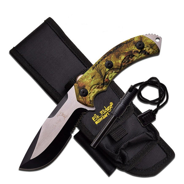 Elk Ridge ER-537CA Fixed Blade Knife