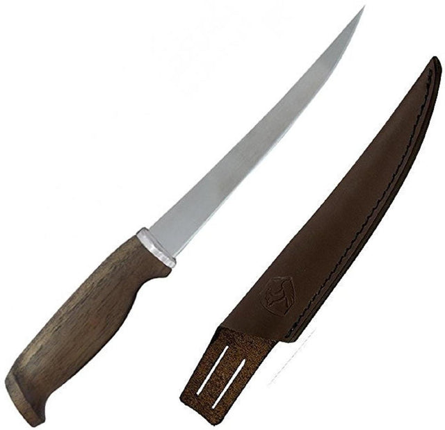 "Condor CTK101-7 Finmaster Knife w/7"" Blade and Walnut Handle"