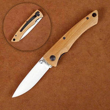 Stone River SRG2WMO Ceramic Folding Knife with Olivewood Handle