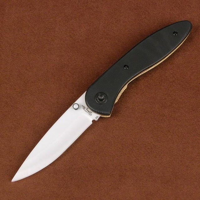 Ceramic SRG2GLW Folding Knife with G10 Handle