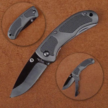 Stone River SRG4RPBF Folding Ceramic Hunting Knife with Retractable Point Protector