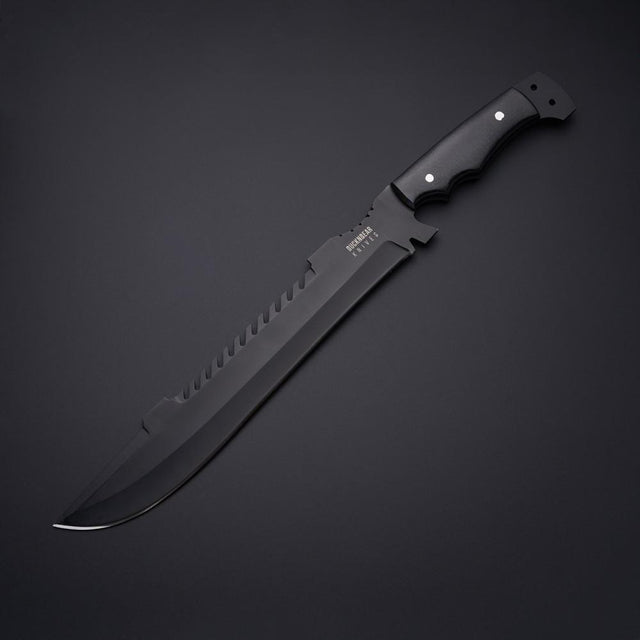 Buck N Bear  BNB12334UM Ultimate Black Machete
