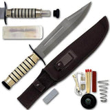 Bowie Knife with Survival Kit