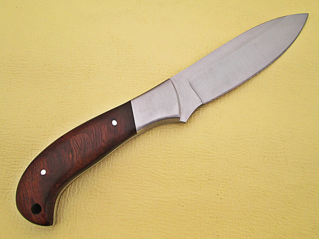 White Deer Full Tang Fixed Blade w/J2 Steel & Operators Hardwood Grip