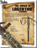 Shadow Cutlery Vikings (TV Series) Sword of Lagertha Scabbard