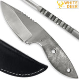 White Deer D2 Steel Fixed Blade Hunting Skinner Knife